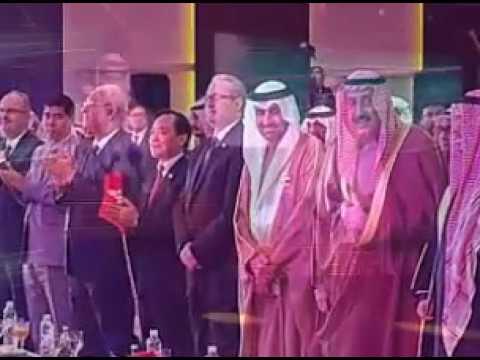 جزء من الكلمة الأرتجالية الوطنية لمحافظ الفروانية الشيخ فيصل الحمود بمناسبة الاحتفالات الوطني