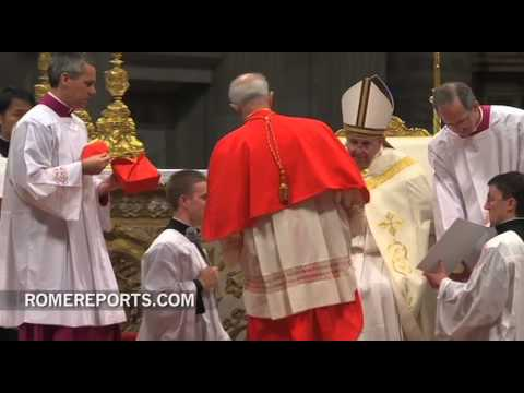 Archbishops of Buenos Aires and Seoul, Korea are made Cardinals by Pope Francis