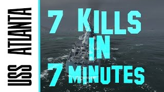 atl dominance 7 kills in 7 5 minute game world of warships