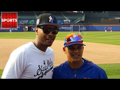 Carmelo Anthony's Half-Mets, Half-Yankees Hat Is A Travesty