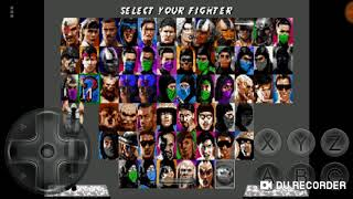 Jugando Ultimate Mortal Kombat Trilogy para Android #2