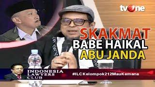 Download Mp3 Babe Haikal Skakmat Abu Janda Di Forum Ilc Tvone