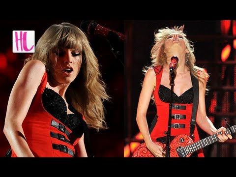 Taylor Swift Stuns with 'Red' at 2013 CMT Music Awards