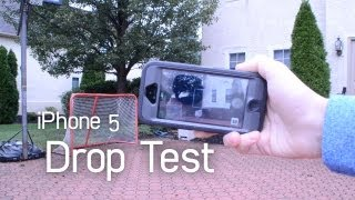 iPhone 5 DROP TEST | Otterbox Defender vs Griffin Survivor