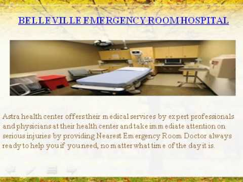 Urgent Care Clinic And Emergency room hospital Astra Health center