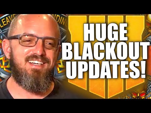 BLACKOUT MAP CHANGES, CAMOS, ARMOR REVAMP & MUCH MORE COMING TO BLACK OPS 4!