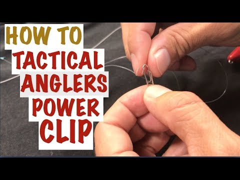 HOW TO Use TACTICAL ANGLER CLIP For Fishing Lures