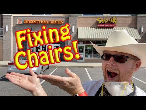 EPISODE #1: Fixing The Chairs!