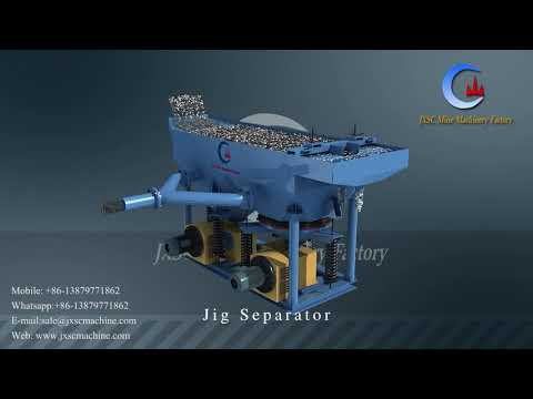 Mineral Jig Machine Working Principle - Gold Diamond Mining Process