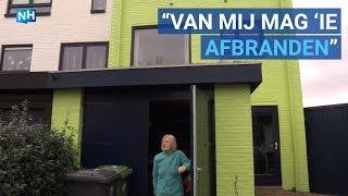 Bewoners woest om felgekleurd groen huis in Den Helder
