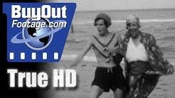 Hollywood FL. Beach and Magnolia Gardens SC. 1930s Home Movies Vol. 009