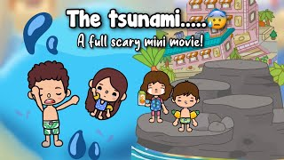 THE TSUNAMI 🌊💙 | A scary/adventurous movie 🎥 | Toca shine ✨