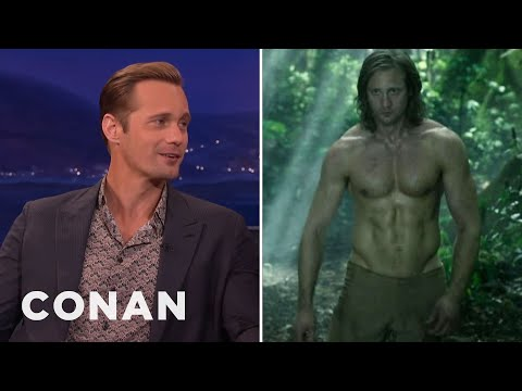 Alexander Skarsgard's Insane Diet To Get Jacked As Tarzan  - CONAN on TBS