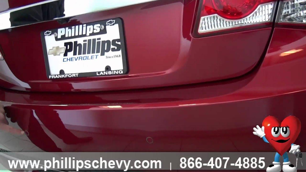 Phillips Chevrolet 2014 Chevy Cruze LTZ Exterior Chicago New
