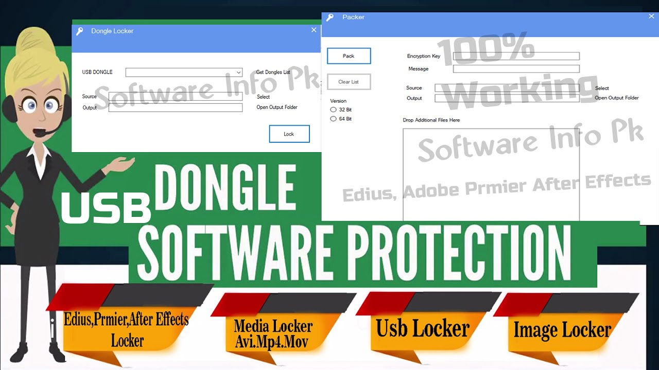 Download Usb Dongal Protaction  Lock & Unlock Projects Software By Software Info Pk