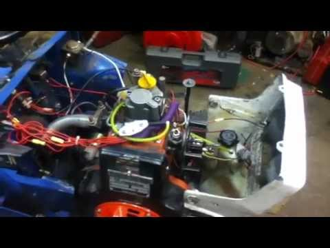 more wiring on ford diesel tractor youtube rh youtube com