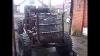 Трактор с двигателем ВАЗ 2106, часть 1(Минитрактор: Двигатель ВАЗ 2106 КПП ВАЗ 2106 КПП ГАЗ 53 с коробкой отбора мощности для привода насоса НШ-32 Раздат..., 2013-11-10T16:44:29.000Z)