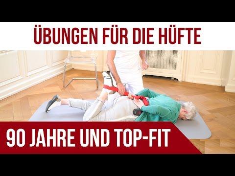 Übungen bei Hüftschmerzen / Hüftarthrose | 90 Jahre und Top-Fit | Liebscher & Bracht