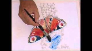 Watercolour Painting Butterflies - Part 5 of 5