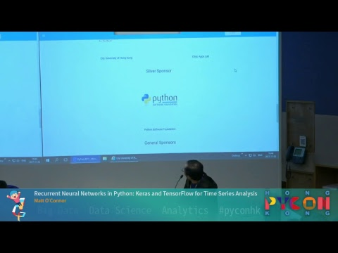 PyCon HK 2017 - Recurrent Neural Networks in Python: Keras and TensorFlow for Time Series Analysis