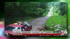 Illegal dumping caught on camera in Spartanburg