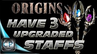 How to HOLD 3 UPGRADED Staffs At The SAME TIME - Origins Black Ops 2 Zombies (1080p HD)