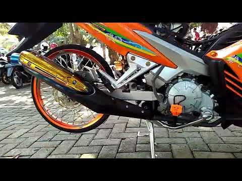 Modifikasi Jupiter Mx 135 Super Orange 2019