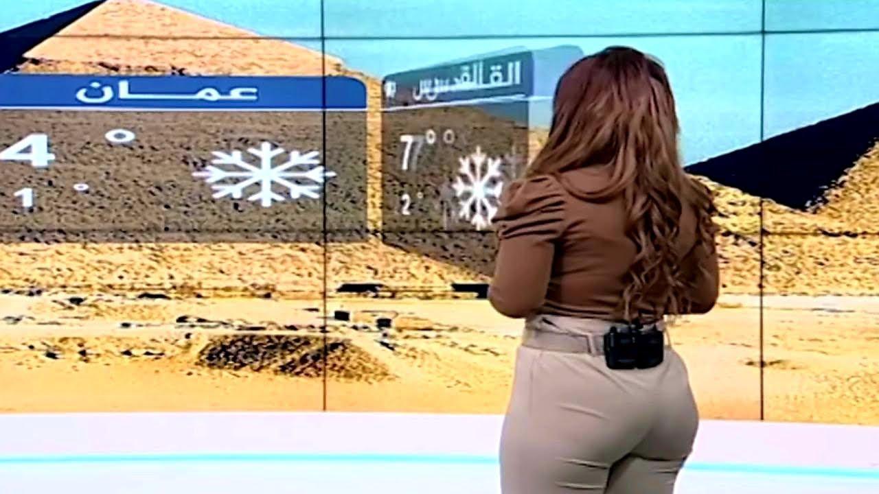 تخيل نفسك مكان هذه المذيعة العربية في اسوأ موقف محرج ماذا ستفعل... أنظروا ما حدث !!