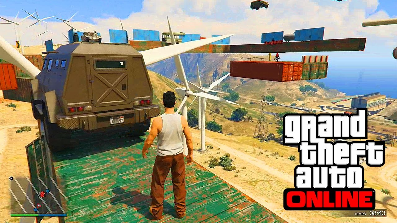 Gta 5 minecraft mod (funny moments) (gmod garrys mod) youtube.