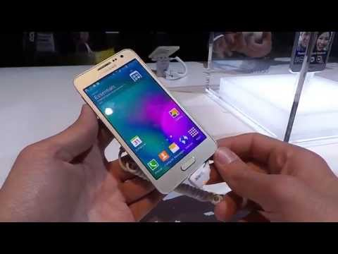 Samsung Galaxy A3 bemutató videó