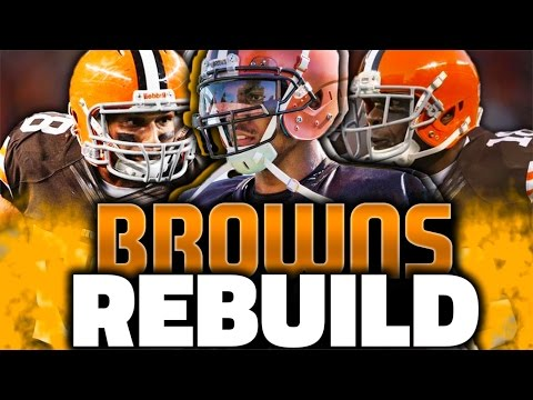 REBUILDING THE CLEVELAND BROWNS! MADDEN 17 CONNECTED FRANCHISE
