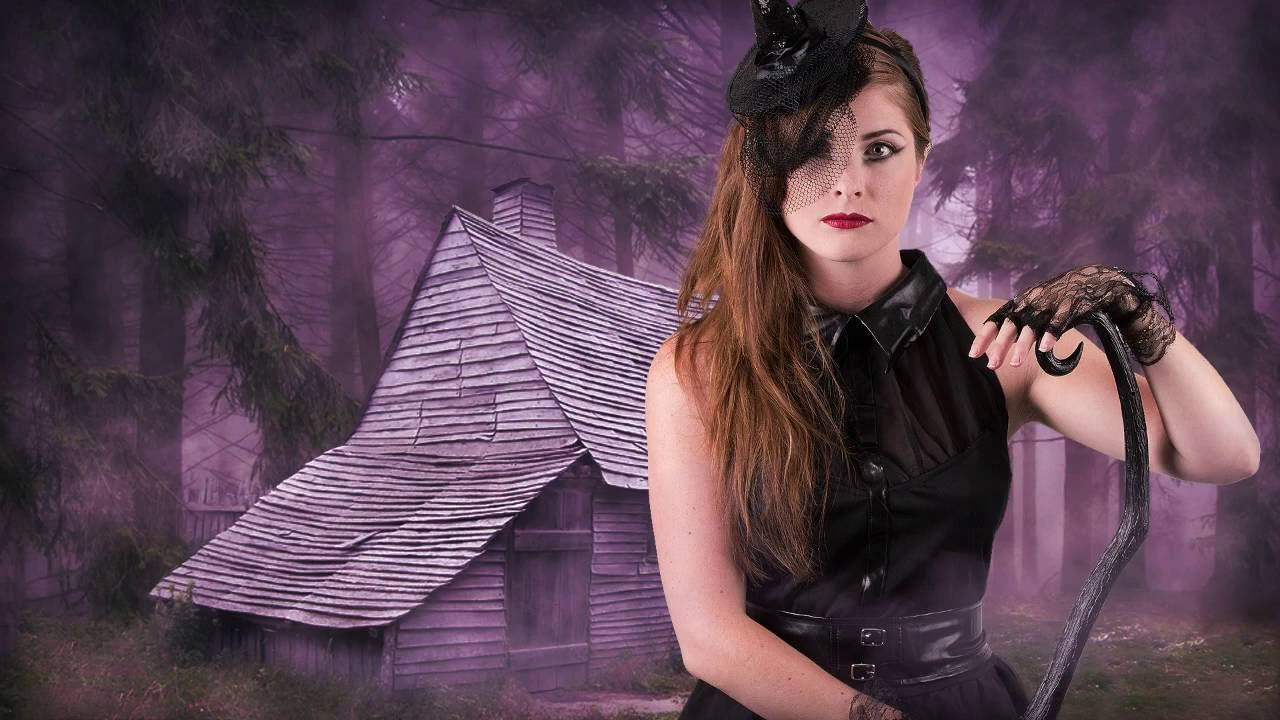 hexen make up tutorial f r halloween youtube. Black Bedroom Furniture Sets. Home Design Ideas