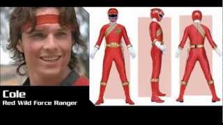 Repeat youtube video Power Rangers Roster History [1993-2013] [MMPR-Megaforce]