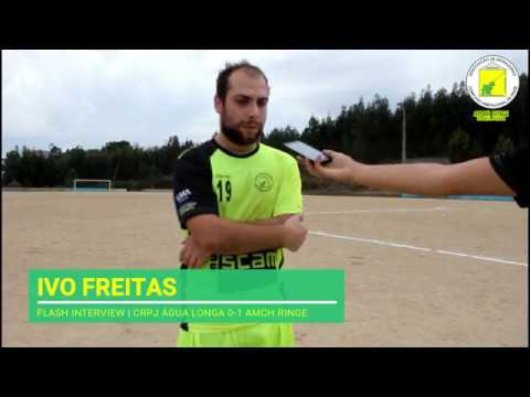 FLASH INTERVIEW | Ivo Freitas (CRPJ Água Longa 0-1 AMCH Ringe)