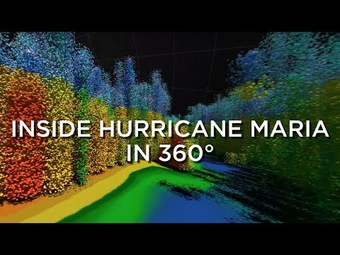 Inside Hurricane Maria in 360°