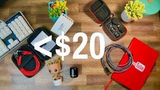 Best Tech Under $20 - October 2017 - Top Tech