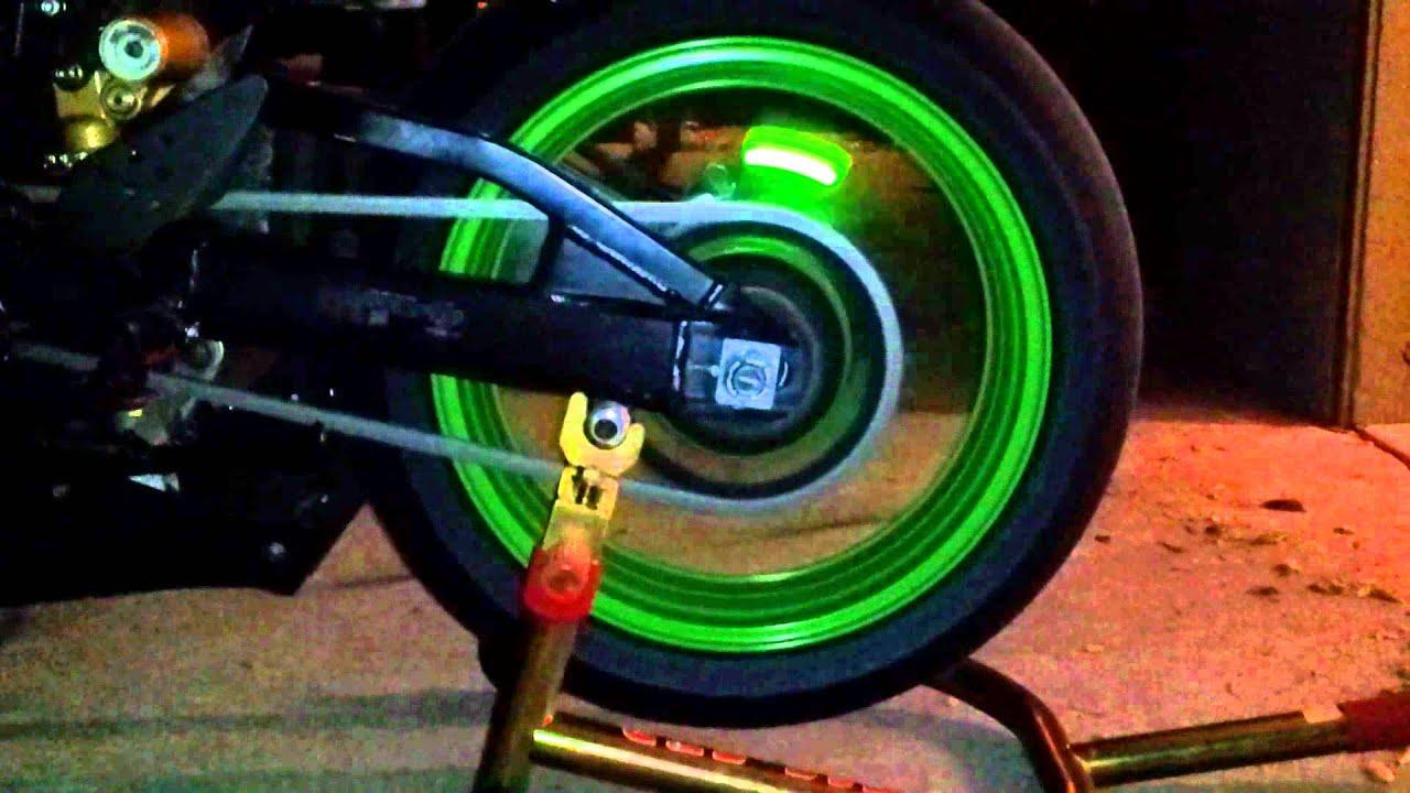 Street FX Wheel Tire Rim Air Valve Light
