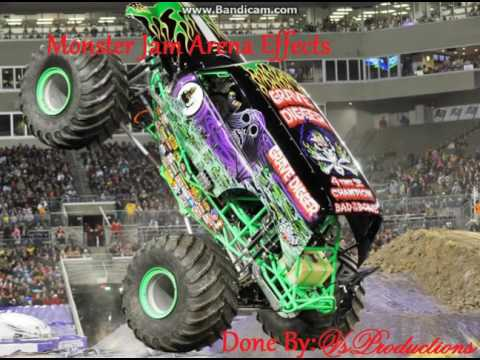 Monster Jam Arena Effects: Grave Digger