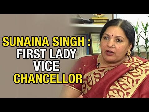 Sunaina Singh Exclusive : First Lady Vice Chancellor of India | HMTV Avani - Vijetha