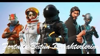 Fortnite All My Skins And Dances!!!!