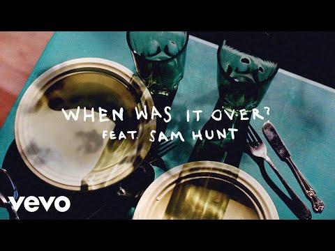 Sasha Sloan - when was it over? (Lyric Video) ft. Sam Hunt