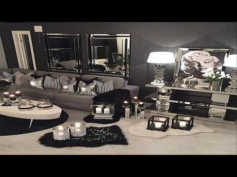 Black And Silver Bedroom Design Ideas