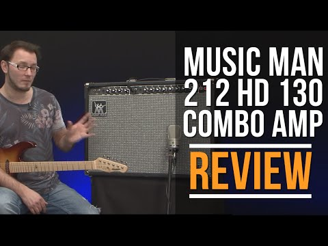 Music Man 212 HD 130 Combo Amp Review | Guitar Interactive Magazine