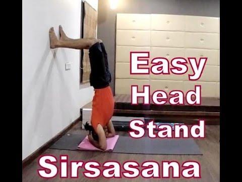 beginner headstand sirsasana  yoga for beginner  2