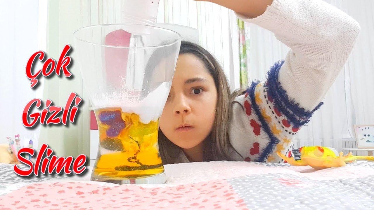 Odamda Cok Cok Gizli Slime Oyuncax Tv Youtube