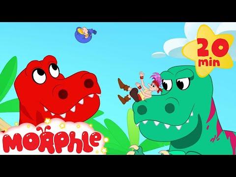 Morphle Dinosaurs for kids! Super hero Morphle