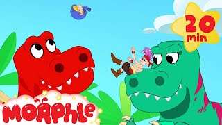 Morphle Dinosaurs for kids! Super hero Morphle thumbnail