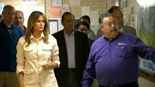 Melania Trump visits child migrant detention centre | ITV News