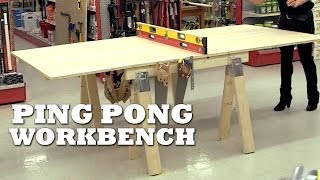 How To Make A Ping Pong Workbench