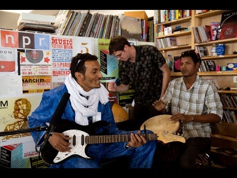 Bombino: NPR Music Tiny Desk Concert - YouTube